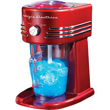 Electric Retro Frozen Ice Beverage Maker, Nostalgia Margarita Slush Blender