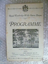 Theatre Programme THE BELLE OF NEW YORK- C M Mclellan,Rowland Hill
