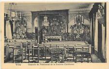 AK Wiltz Großherzogtum Luxemburg - Chapelle du Pensionnat de la Doctrine Chr...