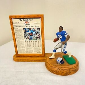 1991 BARRY SANDERS Detroit Lions STARTING LINEUP HEADLINE COLLECTION Figure