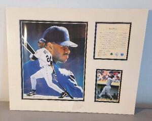 1996 KRSI Ken Griffey Jr. 11x14 Limited Edition Matted Art Print Litho  #/12,500