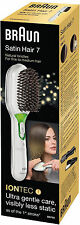 Marrone, capelli spazzola, Satin Hair 7 IONTEC br750, setole naturali e ionentechnol