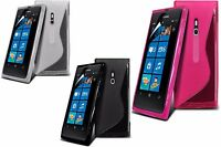 For All Microsoft & Nokia Lumia Models - S-Line Wave Gel Silicone Case Cover