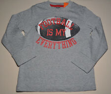 Gymboree boy football is my everything gray tee shirt size 7 NWT top boys