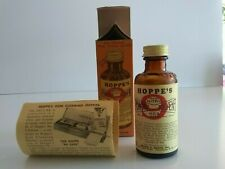 HOPPES VINTAGE 94% FULL NITRO NO. 9 POWDER SOLVIENT MARK WITH BOX AND PAPERS '59