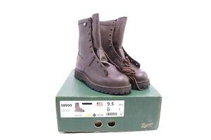 """NEW Danner Hood Winter Light 8"""" Boots 9.5 REGULAR Lather Brown 58900"""
