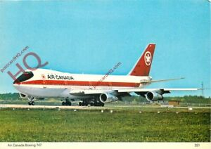 Picture Postcard:;AIR CANADA BOEING 747