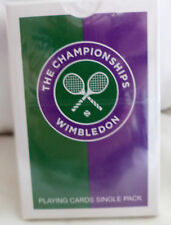 WIMBLEDON THE CHAMPIONSHIP PLAYING CARDS OFFICIAL BRAND NEW SEALED