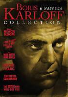 Boris Karloff Collection: 6 Movie Pack (DVD, 2015, 2-Disc Set) - NEW!!