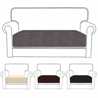 Replacement Sofa Seat Cushion Cover Couch Protector Fabric Stretchy Slip Home