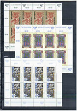 AUSTRIA   LOT SHEETS DAY  OF STAMPS 1991/2000  MNH