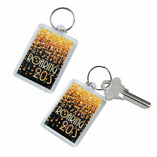 20S Theme Picture Frame Keychains - Apparel Accessories - 12 Pieces