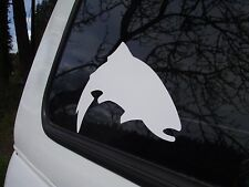 SIMMS White Trout decal