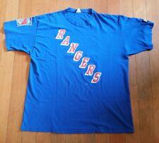 Vintage New York Rangers Messier #11 Starter T Shirt Size XL Rare Hard To Find