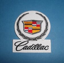 CADILLAC SEW OR IRON ON PATCH
