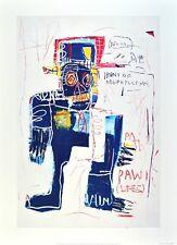 Jean-Michel Basquiat Irony of Negro Policeman Poster Kunstdruck Bild 70x50cm