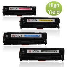4PK CC530A Toner Cartridges for HP LaserJet Pro M451 M475 Printer Color Toner