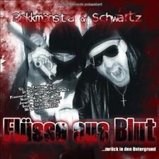Blokkmonsta & Schwartz - Flüsse aus Blut CD (Dr. Faustus, Uzi, Frauenarzt)