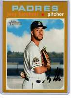 Joey Lucchesi 2020 Topps Heritage 5x7 Gold #109 /10 Padres