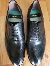 NEW Paul Smith Brogues Cristo Black Leather Shoes Size 8UK 9US EU42