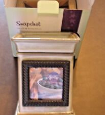 1 SCENTSY NEW IN BOX SNAPSHOT FULL SIZE WARMER RETIRED DISCONTINUED RARE