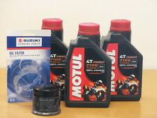 Motul Öl 7100 10W40  3 Ltr  / Original  Ölfilter Suzuki GSX-R 600 ab Bj 06