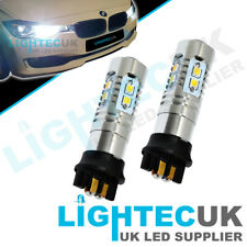 2x CANBUS BMW 2 3 SERIES XENON LED BULBS DRL DAYTIME RUNNING LIGHTS PW24W
