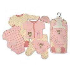 Baby Poison Set for Boy or Girl 7 Piece Layette in a Mesh Bag -- Purrfect me, 3-6