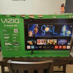 "VIZIO D40f-J09 40"" D-Series Full HD LED Smartcast TV - Black GOOD SCREEN"