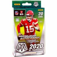 2020 Panini Mosaic NFL Football Hanger Box Orange Parallels Walmart Exclusive