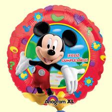 Folienballon Mickey  Maus Ballon Kindergeburtstag Kinderparty Feliz Cumpleaños