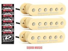 Seymour Duncan Classic Stack Plus STK-S4 Cream Set ( 6 SETS OF DUNLOP STRINGS )