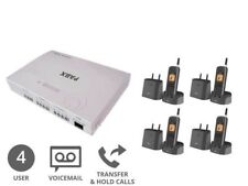 Bundle Deal | Cordless Business Phone System | 4 Users (Analogue Plug & Play)