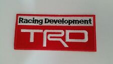 TRD TRD TRD   Badge iron on applique or Sew on fashion embroidery embroider