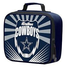 NFL Dallas Cowboys Adult / Kids Insulated Lunch Kit Box Bag Food Cooler