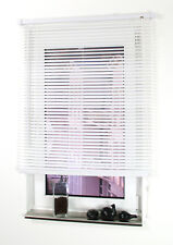 PVC Jalousie Kunststoff Rollo Lamellen Jalousette Tür Fenster Plissee Faltrollo