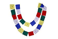 Buddhist Prayer Flags Mantras & Wind Horses(5 strings x 25 flags)-102(M5)