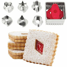 Square Linzer Cookie Cutter Set from Wilton #0113 - NEW