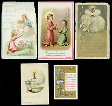 lotto santini-holy cards lot-lot images pieuses-konvolut heiligenbildichen 2515
