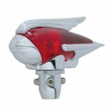 Chrome Antenna Topper - Red