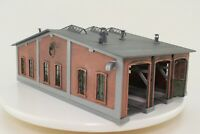 Faller 190069 H0 Wagenhalle Lokschuppen 3-ständig fertig aufgebaut