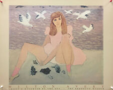 Milton Avery - Artist's Daughter By the Sea - Brooklyn Museum - Offset Poster