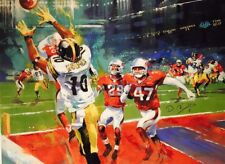 The Catch Steelers Super Bowl XLIII Canvas AP