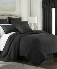 Colcha Linens Cambric 100% Cotton Queen Comforter Black Made in USA $736