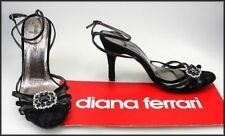 Diana Ferrari Leather Slim Heels for Women