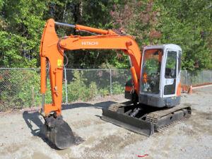Hitachi ZX55 Hydraulic Mini Excavator Cab Blade Aux Hyd Isuzu bidadoo -Repair
