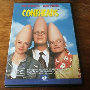 Coneheads DVD R4 Like New! FREE POST