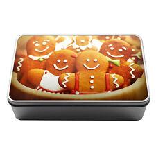 Gingerbread men sweets Metal Storage Tin Box 034