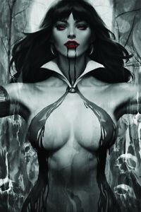 "Vampirella # 2 Stanley ""Artgerm"" Lau 1 in 50 Virgin ""noir"" Variant Cover   NM/MT"
