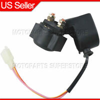 Starter Relay Solenoid 2 Pins for 50cc 70cc 90cc 110cc 125cc ATV Quad 4 Wheeler